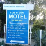 Fun 'N' Sun Signage